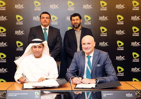 E-Vision and MBC in exclusive UAE IPTV/OTT channel distribution deal