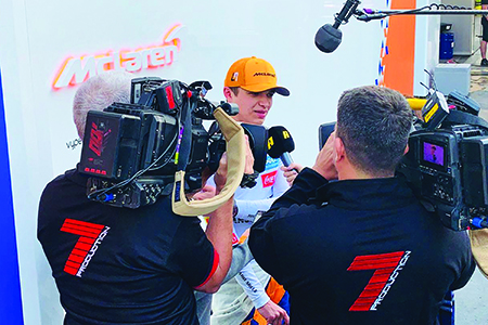 Unearthing 7 Production's formula for high-intensity coverage of F1